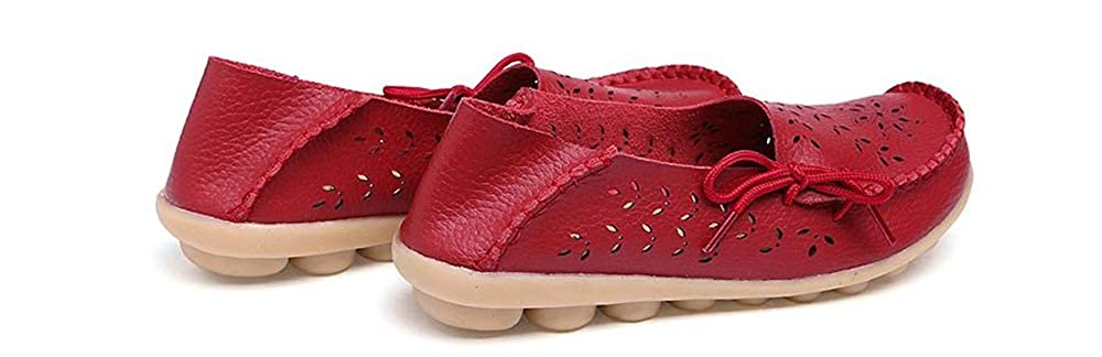 Gentleman/Lady unyielding1 Women's Leather Loafers Flats Casual Casual Casual Moccasins Wild Breathable Driving Shoes Attractive and durable luxurious Speed refund WG20057 e3d785