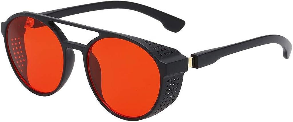 Gusspower Hombres Gafas de protección radiológica Polarizadas Retro Gafas De Sol oscuras Protección 100% UVA & UVB