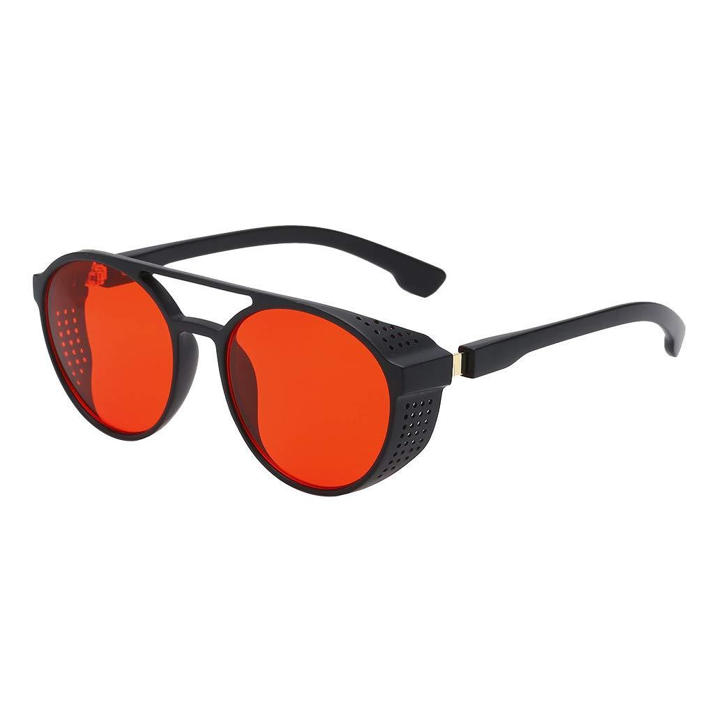 TADAMI Semi Rimless Polarized Sunglasses Women Men Retro Brand Sun Glasses Red