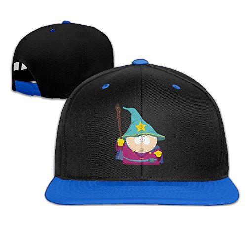 South Park Cartman Flat Snapback Hat Cap Men Women ( 5 Colors ) RoyalBlue