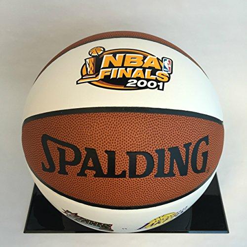 76ers vs Lakers - 2001 NBA Spalding Championship Commemorative Basketball - Limited