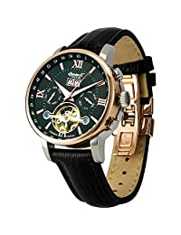Ingersoll Men's IN6900RBK Automatic Grand Canyon IV Rose-Gold Watch with Black Band