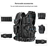 WWahuayuan Adjustable Tactical Vest Trainning