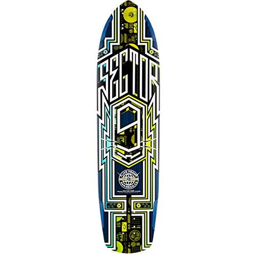 Sector 9 Carbon Flight Deck Skateboard, (Sector 9 Longboards Deck)