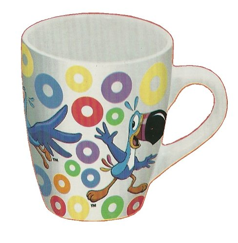 Toucan Sam Kellogs Fruit Loops Ceramic 12 Oz Mug -