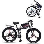 51gWsSTeIXL. SS150 Alta velocità 26 '' Electric Mountain bike con rimovibile Grande capacità agli ioni di litio (36V 350W), bici elettrica 21 Speed Gear e tre modalità di funzionamento ( Color : Black , Size : 10AH )