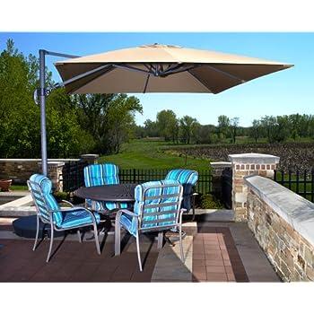 Exceptional Beautiful 10u0027 Cantilever Pool U0026 Patio Umbrella