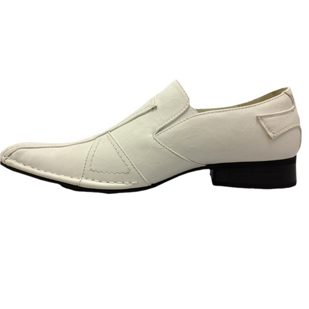Blancho Kenny D Mens Styling Shoes White US010