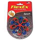 FlexEx® SPORT Patented Hand Exerciser, Made in USA, Hand Grip Strengthener, for Sport and Music, Law Enforcement Hand Exerciser