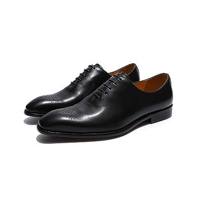 Amazon.com: FELIX CHU Zapatos de vestir de cuero genuino ...