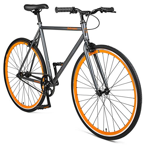 Retrospec Harper Single-Speed Fixed Gear Urban Commuter Bike (Bicycle)