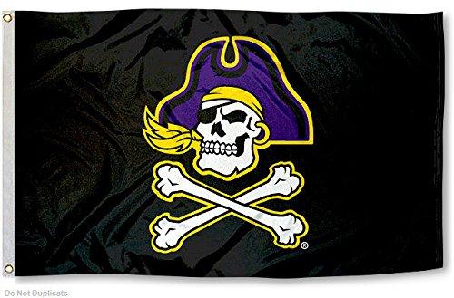 ECU East Carolina Pirates University Large College Flag