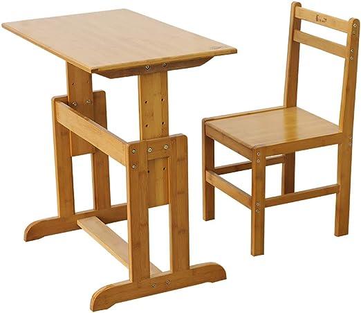 Juegos de mesas y sillas El escritorio del estudio y el juego de ...