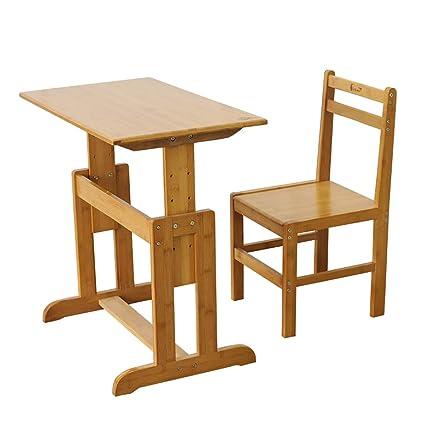 Amazon.com: Table & Chair Sets Study desk writing desk and chair set ...