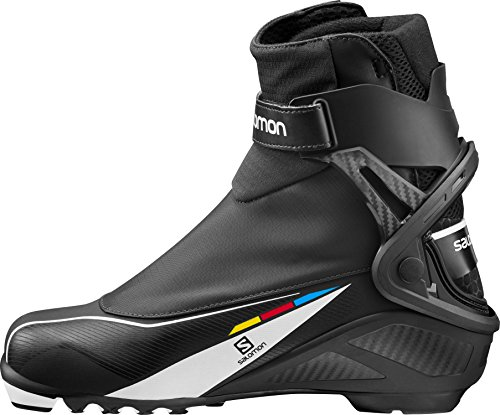 Salomon Prolink Equipe 8 Skate Boot - Men's White/Black/Silver, US 11.5/UK 11.0 - Salomon Skate Ski