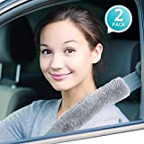 Premium Quality Comfy Faux Sheepskin Car Seat Belt
