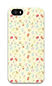 iPhone 5 5S Case Pattern Backgrounds Cute 3D Custom iPhone 5 5S Case Cover