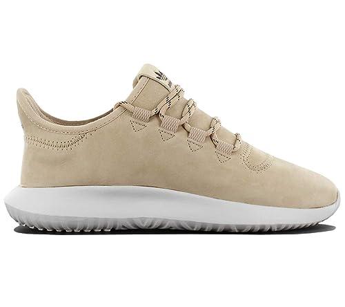 new products b6dfb 7d17b adidas Mens Originals Mens Tubular ShadowTrainers in Cream - UK 3.5