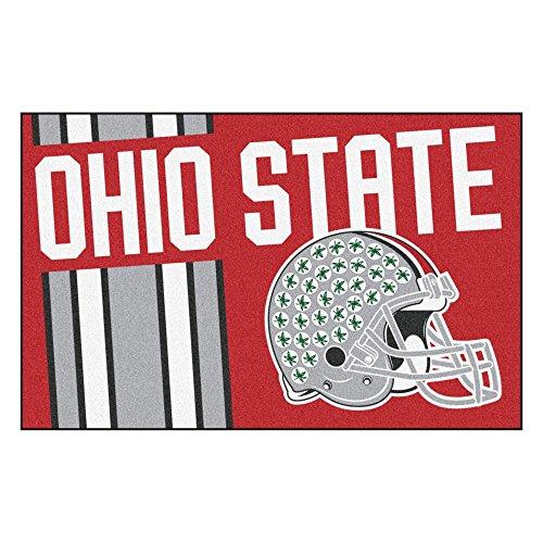 Ohio State University Custom Logo Starter Rug