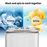 Safeplus Portable Washer and Spin Dryer,Compact