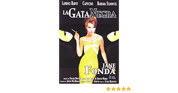 La Gata Negra [DVD]: Amazon.es: Laurence Harvey, Capucine, Jane Fonda, Anne Baxter, Barbara Stanwyck, Richard Rust, Karl Swenson, Edward Dmytryk, ...