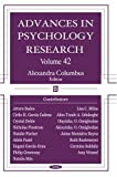 Advances in Psychology Research, , 1600211046