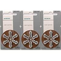 Siemens S312 Hearing Aid Battery - 60 Pieces