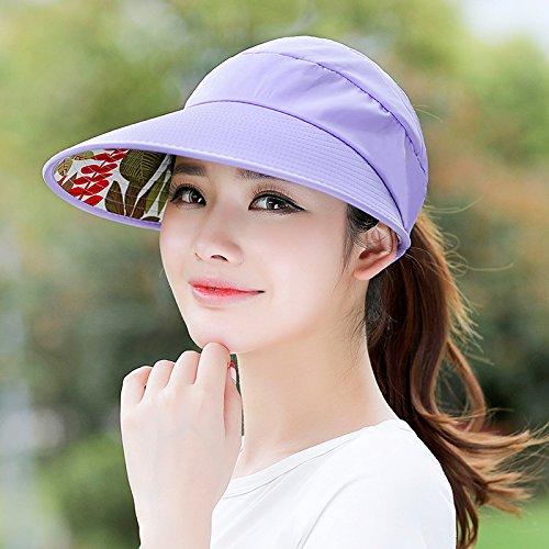 Light  light Women's Adjustable Beach Floppy Sun Hat