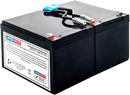 New Battery Pack for APC Smart-UPS 1000VA SMT1000 SMT1000 Compatible Replacement by UPSBatteryCenter
