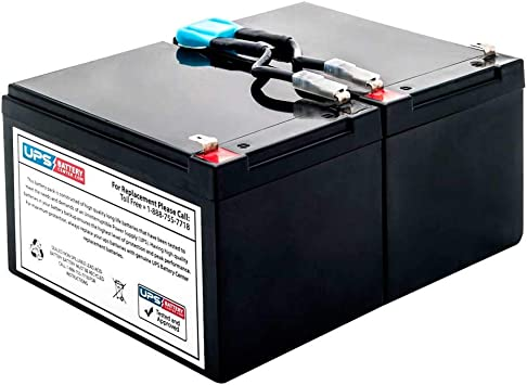 APC Smart-UPS 1500 LCD SMT1500 Compatible Replacement Battery Kit with Harness