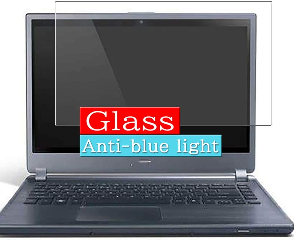 Synvy Anti Blue Light Tempered Glass Screen Protector, Compatible with ACER ASPIRE M5-581 / M5-581G / M5-581TG / M5-581T 15.6