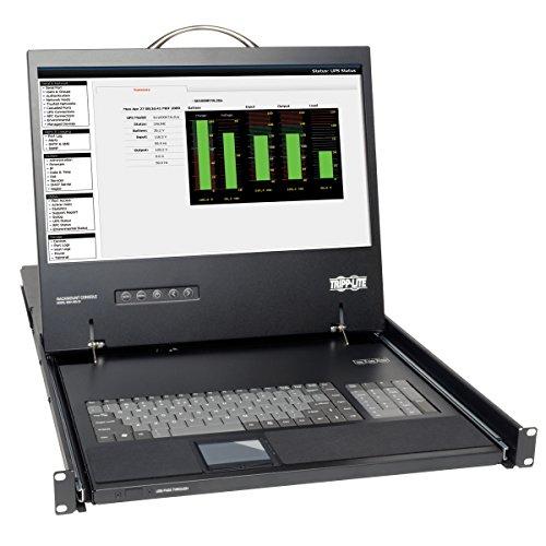 Tripp Lite B021-000-17 KVM Console Unit 1U Rackmount with 19-Inch LCD ()