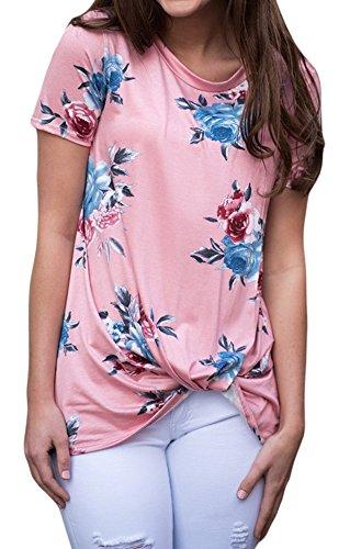 Cfanny - Camisas - Manga corta - para mujer Rosa
