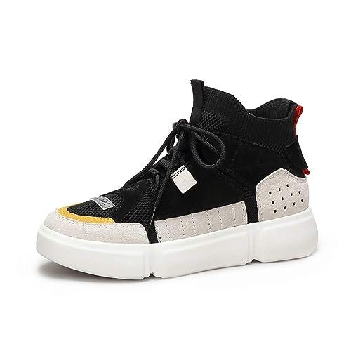 Zapatos De Mujer Zapatos Deportivos Zapatos Planos De Tacón Plano Calcetines Elásticos Botas Zapatos De Calcetines De Otoño Mujer: Amazon.es: Zapatos y ...