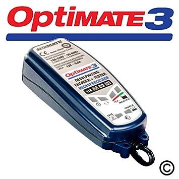 OPTIMATE 3 Cargador de batería SAE Versión 2014: Amazon.es ...