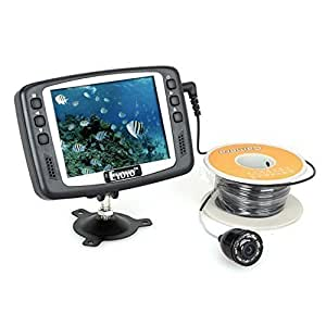 Eyoyo Original 1000TVL Underwater Ice Video Fishing Camera Fish Finder 15m Cable 3.5'' Color LCD Monitor