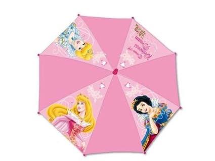 Paraguas Cadete Plegable 24-56cm Princesas Radio 53cm