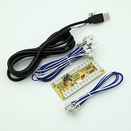 51gWxaPZrsL amazon com easyget classic arcade game diy parts for mame usb Basic Electrical Wiring Diagrams at creativeand.co