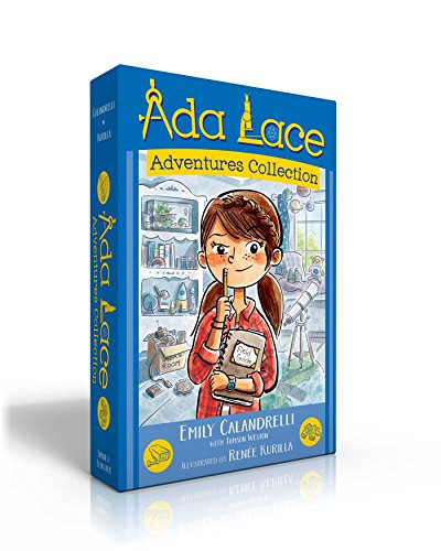 Ada Lace Adventures Collection: Ada Lace, on the Case; Ada Lace Sees Red; Ada Lace, Take Me to Your Leader; Ada Lace and the Impossible Mission (An Ada Lace Adventure)