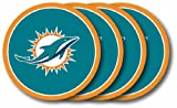 Miami Dolphins Coaster Set - 4 Pack
