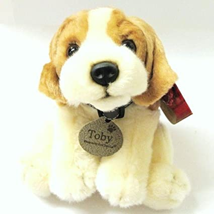 Toby American Beagle Dog 25cm Soft Toy by Keel Toys