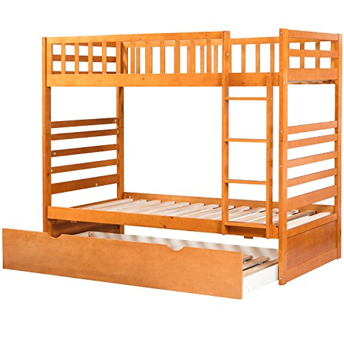 Solid Hardwood Twin Bunk Bed Twin Bunk Beds For Kids With