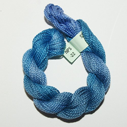 Stef Francis Hand Dyed Perle Cotton Size Five Embroidery Thread (P5 ()