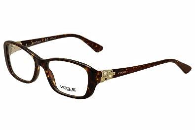 Amazon.com: Vogue VO 2842b Anteojos de la mujer, Multi, 51 ...