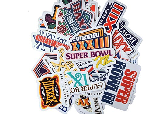 cooryslee-car-stickers-decals-pack-50-pieces-super-bowl-bumper-stickers