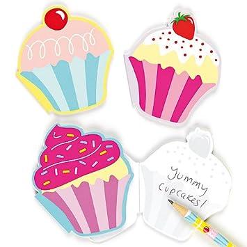 cuadernos de notas aromticos de pasteles para nios blocs de notas perfectos como divertidos premios para