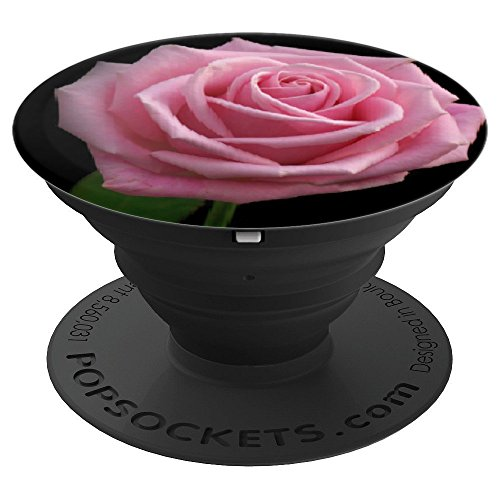A Single Rose Florist - Single Pink ROSE 3 - PopSockets Grip and Stand for Phones and Tablets