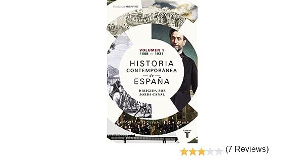 Historia contemporánea de España (Volumen I: 1808-1931) eBook ...