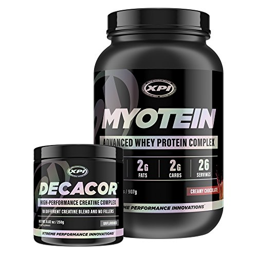 Decacor Creatine Best Creatine Powder Contains Creapure Top Creatine Supplement Enhance Your Muscle Growth, Power and Recovery