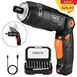 Electric Screwdriver, SDH13DC Cordless Rechargeable Screwdriver 3.6V 2.0Ah Lithium Ion Battery MAX Torque
